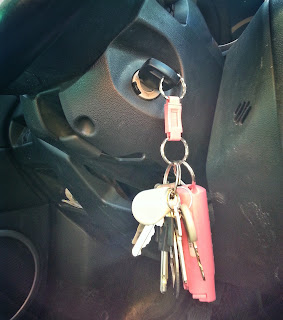 Keys in the ignition
