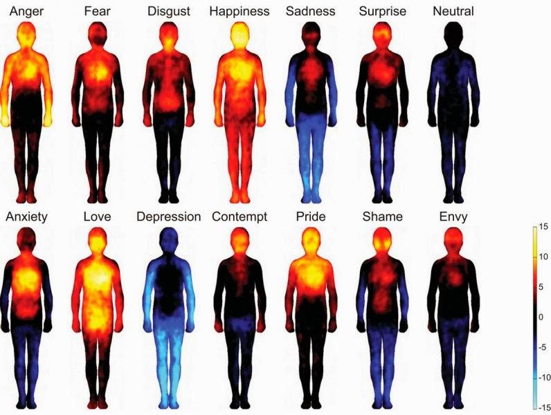 emociones, psicología, mapa emociones