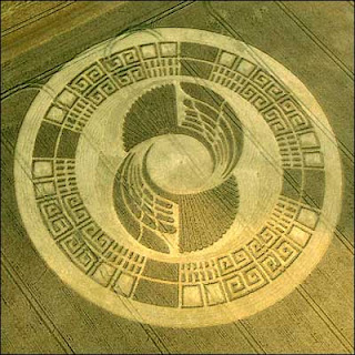 Mayan Wheel Crop Circle