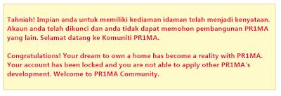 Keputusan undian Pr1ma