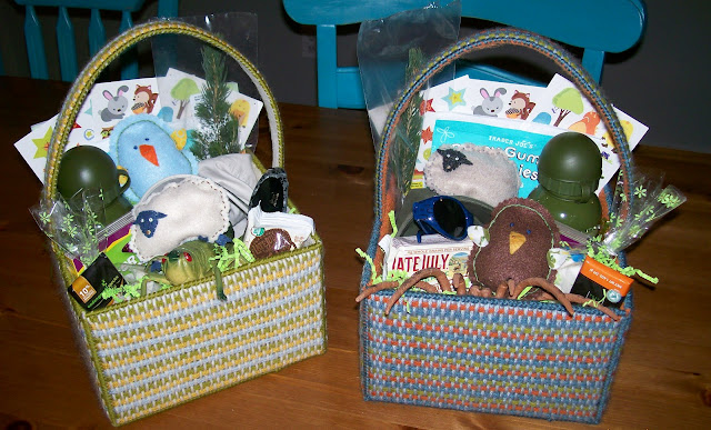 Clever wren handmade easter baskets - Custom made easter baskets ...