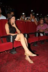 Deepika Padukone Super Sexy Legs Show In Black Skirt At The Launch Of Film Yeh Jawaani Hai Deewani