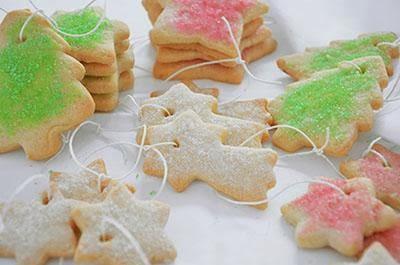 Biscotti per l'albero di Natale