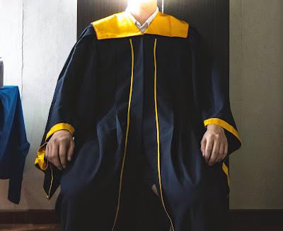 my polytechnic graduation gown