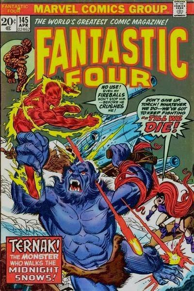 Fantastic Four #145, Ternak