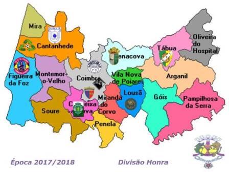 Campeonato Distrital Divisão Honra 2017/2018