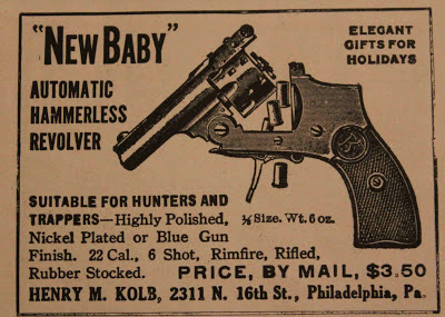 New Baby revolver