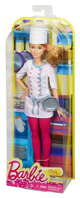 TOYS : JUGUETES - BARBIE Careers | Profesiones  Quiero ser Chef | Muñeca  Barbie Careers Chef Doll  Producto Oficial 2015 | Mattel DHB22 | A partir de 3 años  Comprar en Amazon España & buy Amazon USA