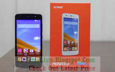 Gionee Pioneer P6 ANDROID Mobile Full Specifications And Price in Bangladesh BD