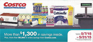 Current Costco Coupon Book May 2015