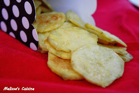 Melissa's Cuisine:  Microwave Potato Chips