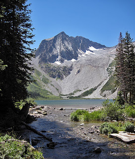 Snowmass Peak and Snowmass Lake