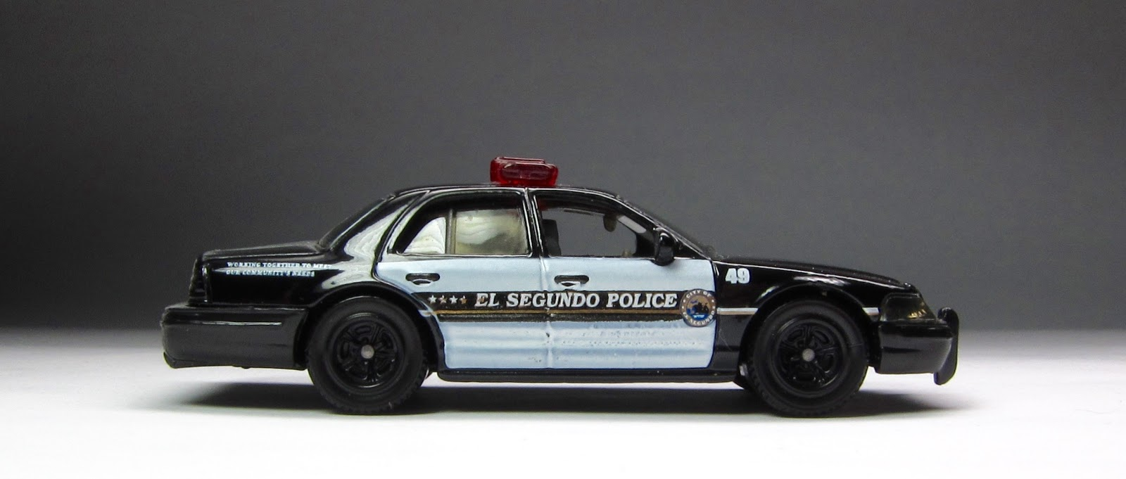 ... Group: The Last Golden Age of Matchbox: Black & White Police Cars