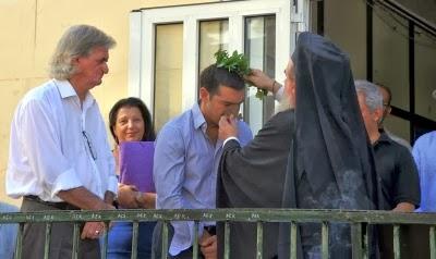 Όταν ο mr. Alexis συναντά εκπροσώπους του Αγίου Όρους