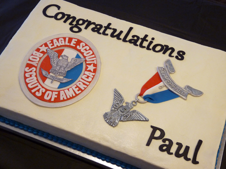 Eagle Scout Cake Ideas http://www.mycakeologyblog.com/2011/05/eagle-court-of-honor.html