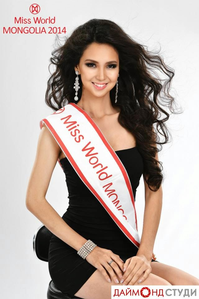 Miss Universe 2017 Winner >> Former Miss Earth contestant wins Miss World Mongolia 2014 - Miss World Winners