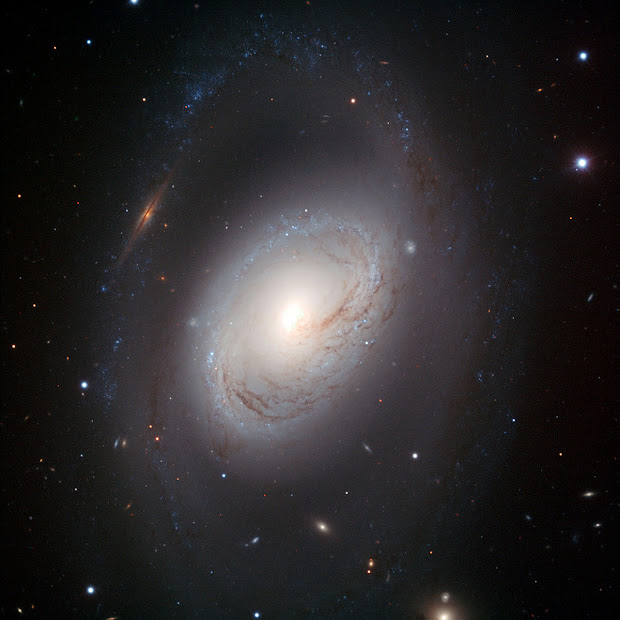 Portrait of M96, an imperfect but beautiful Spiral Galaxy!