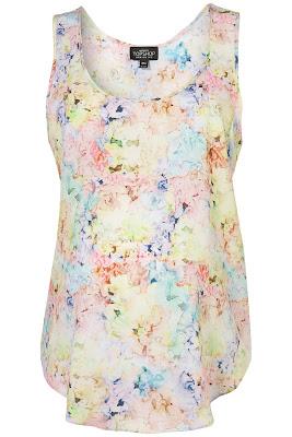 floral maternity vest