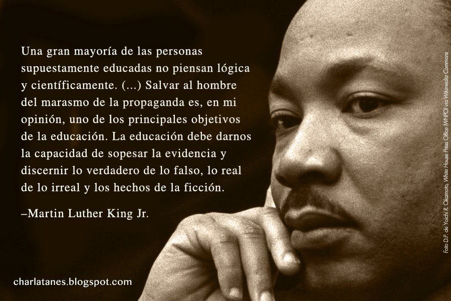 martin luther king thesis