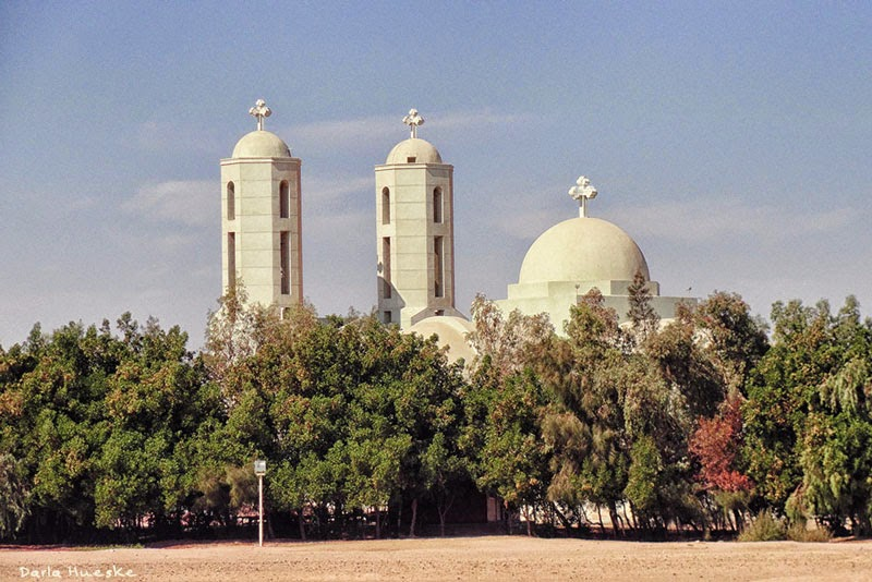 The Coptic church inspired by Michael Graves design