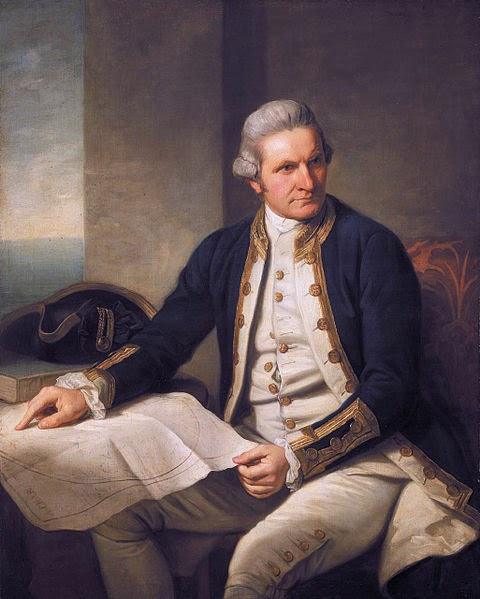 Captain James Cook by Nathaniel Dance-Holland, 1776