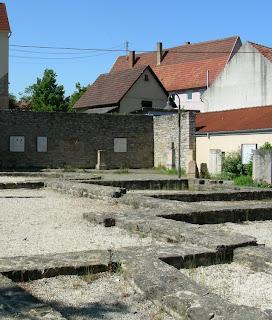 Reste des Römerbads Jagsthausen