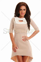 Rochie Artista Perfect Plan Cream (Artista)