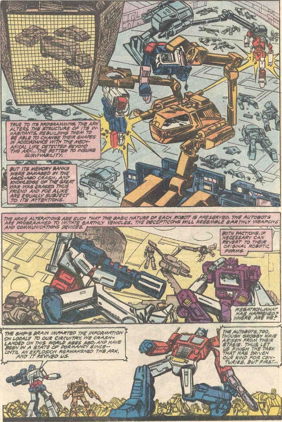 The Transformers (1984) #1 #80 - English 13