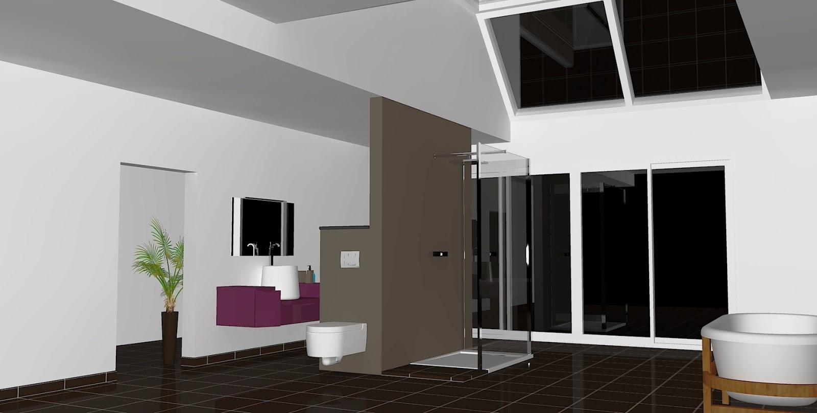 Cuisines et bain kitchens and bath cr ation salle de for Creation salle de bain 3d