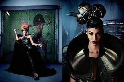 Hot Shoot : Joan Smalls pour V Magazine #74