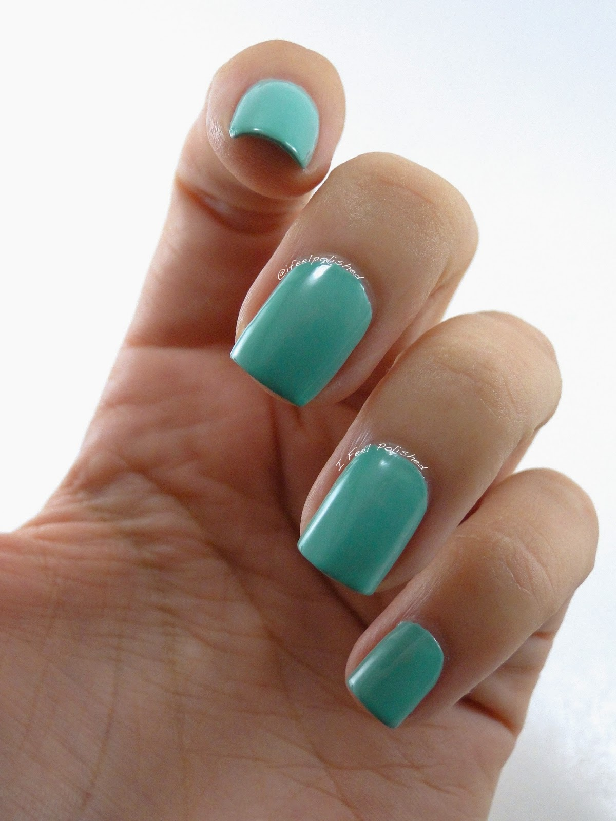 Tiffany Blue Nail Polish