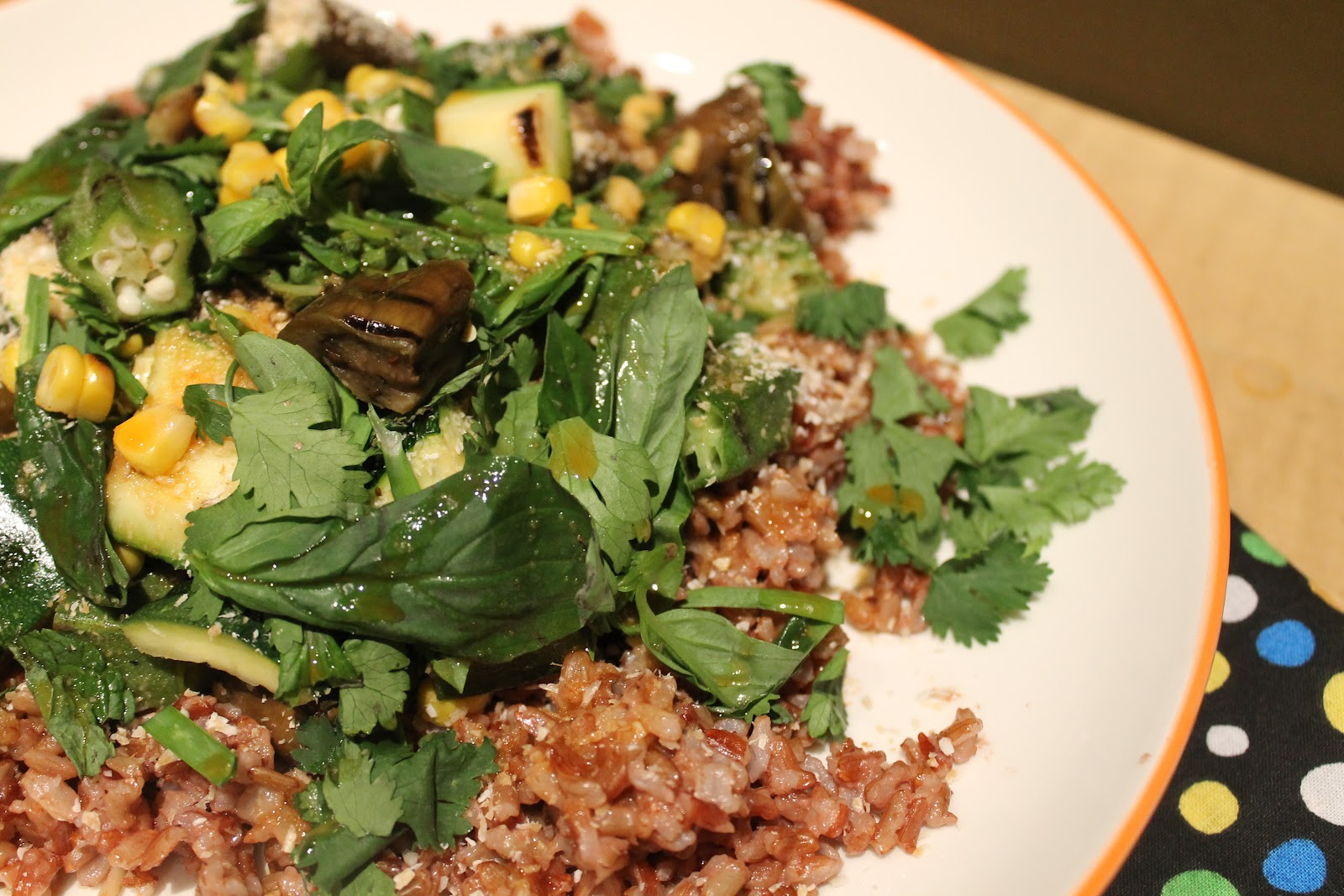 Cookin' & Craftin': Grilled Veggie and Rice Salad with ...