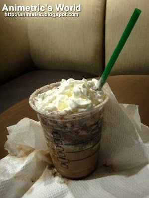 My handcrafted Non-fat Java Chip Frappuccino Blended Beverage
