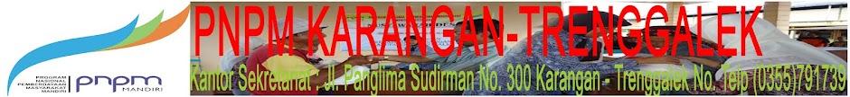 PNPM KARANGAN-TRENGGALEK