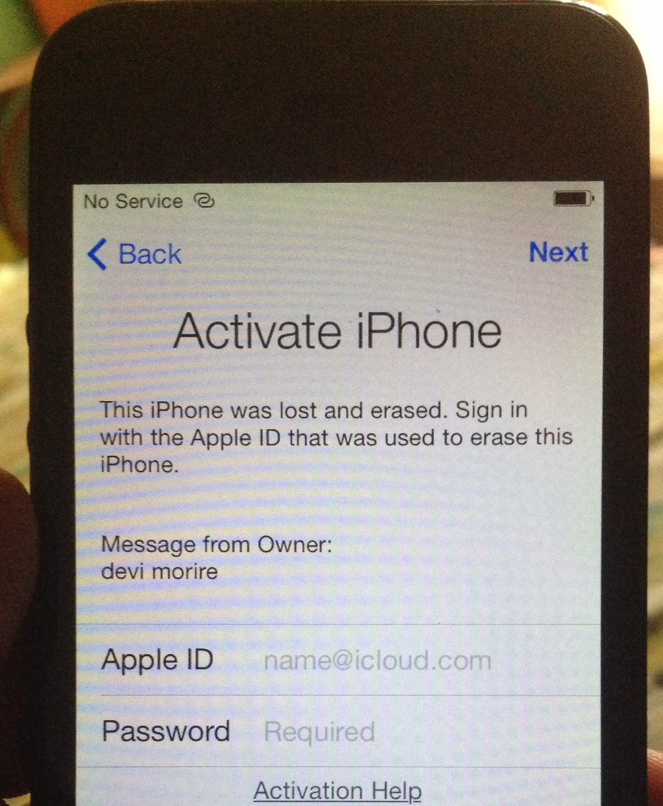 activation without apple id
