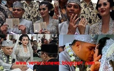 video foto pernikahan kd raul