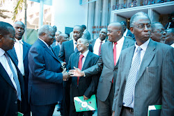 KENYAN PRESIDENT MEETS PRIVATE SECTOR LEADERS