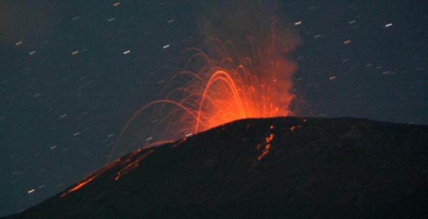 Foto: Gunung Slamet Meletus Hari Ini