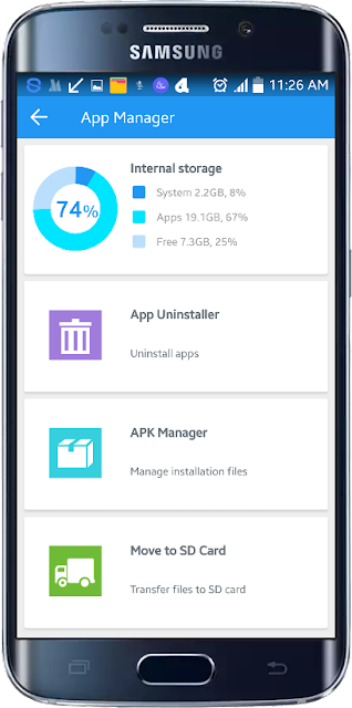App manager Android 360 Security செயலி
