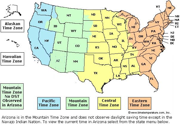 US Time Zone Map AboutTimezone Time Zone Map Of The United States - Printable us time zone map with cities