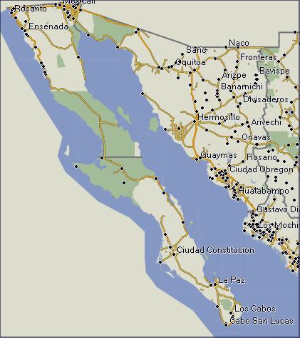 GPSTravelMapscom Baja California Mexico GPS Garmin