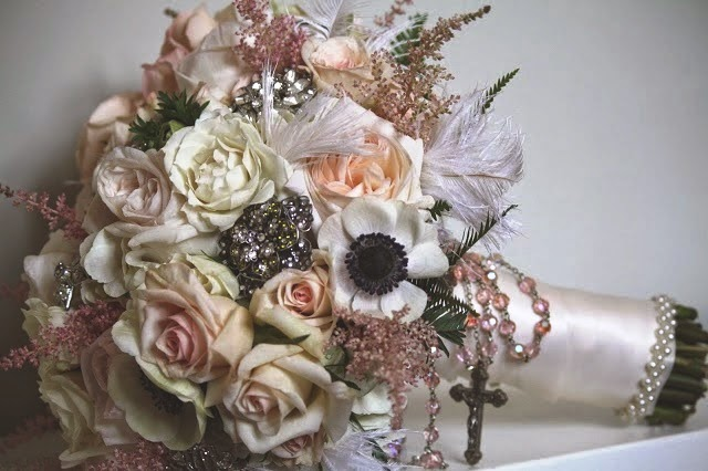 Wedding Bouquet - Wedding Flowers - The Mansion at Cedar Hil - Upstate NY - Selkirk NY - Splendid Stems