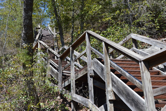 Stairs - Tallulah Gorge - The City Dweller