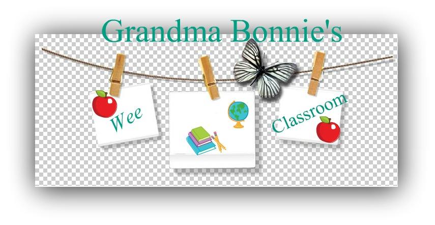 Grandma Bonnie's Wee Classroom