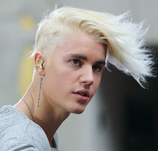 Justin Bieber hairstyle in today show 2015