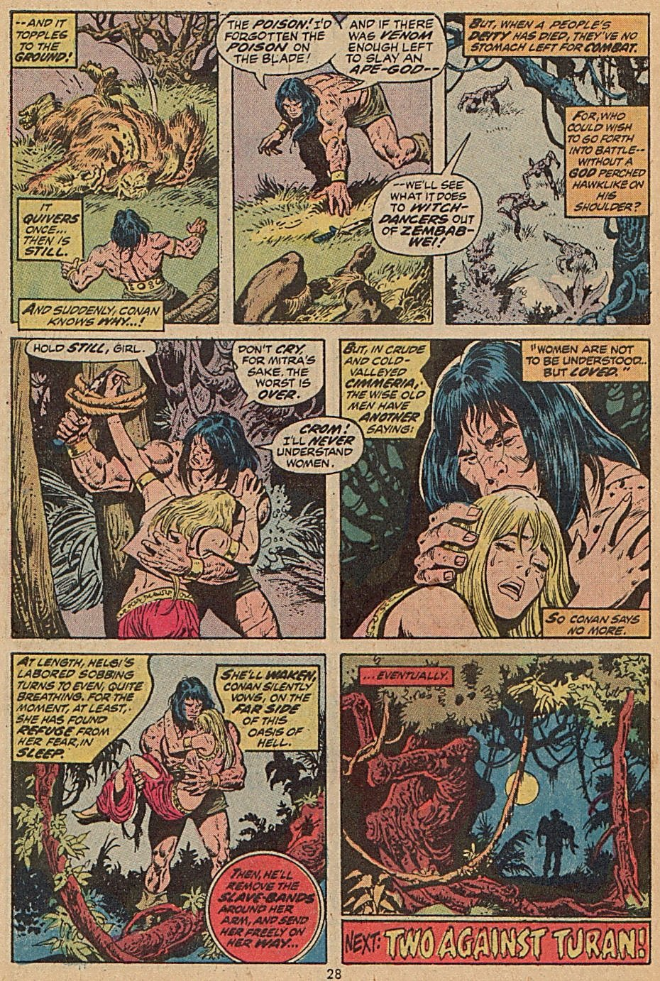 Conan the Barbarian (1970) Issue #28 #40 - English 20