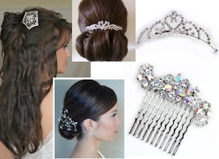 hair combs wedding cheap