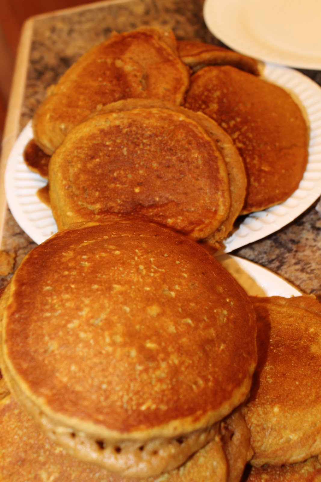 Kitchen of Tasty Chaos: Pumpkin Cinnamon Streusel Pancakes