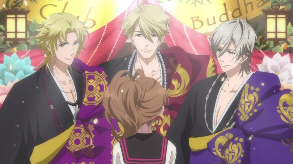 Buddha 2 Anime Characters : Reverse harem garden haremism