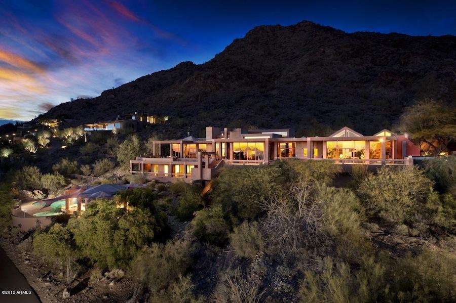 World of architecture amazing desert house in paradise for Arizona home design